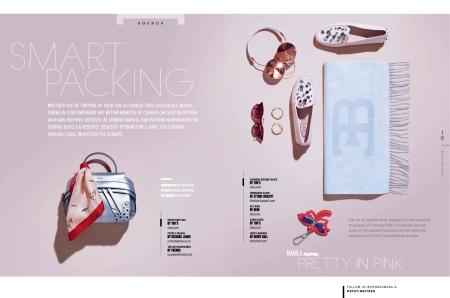 Copywriter portfolio for Selected Conrad Magazine