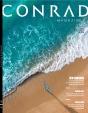 Cover of copywriter portfolio for Conrad Magazine